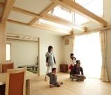 「木の温もりに包まれた、家族が仲良くなれる家富士市N様邸①」/富士・富士宮・三島 フジモクの家