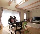 ソーラーシステム(そよ風)で自然に寄り添い心地よく暮らす。富士・富士宮・三島 / フジモクの家