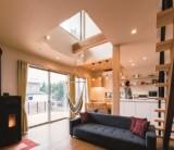 """フジモクの家 施工事例~2つの無垢とシンプルさが""""丁寧な暮らし""""を包む家~"""