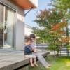「内と外をつなぐウッドデッキ②」/ 富士・富士宮・三島フジモクの家