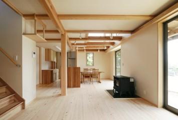 やさしさが続く、快適が変化する。富士ひのきが包む「木造ドミノの家」。 サブ画像1