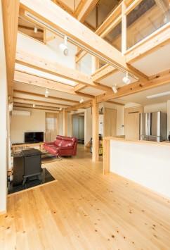 やさしさが続く、快適が変化する。富士ひのきが包む「木造ドミノの家」。 サブ画像2