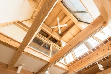 やさしさが続く、快適が変化する。富士ひのきが包む「木造ドミノの家」。 サブ画像3