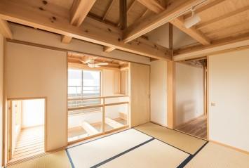 やさしさが続く、快適が変化する。富士ひのきが包む「木造ドミノの家」。 サブ画像7