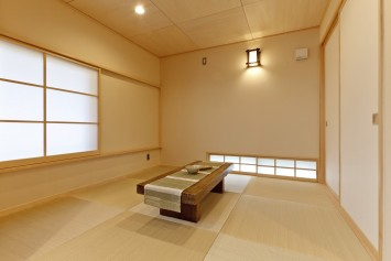 05和室の目透かし天井