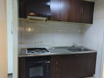 1古いキッチン画像