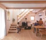 『階段は間取りの要です』 / 富士・富士宮・三島フジモクの家