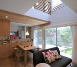 フジモクの家 施工事例 ~庭へつながる開放的な空間 光と風が通う家②~
