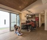 フジモクの家 施工事例 ~経年変化も楽しみな、自然素材×ヴィンテージの家~ ①