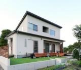 フジモクの家 施工事例~吹き抜けダイニングが伸びやかな、木の素材感を楽しむ家①~