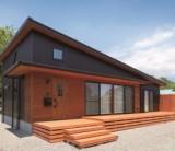 フジモクの家施工事例~無垢の木に囲まれた、山小屋ライクな平屋の住まい~