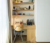【子供部屋に造り付けの机はいかがですか?】/富士・富士宮・三島フジモクの家