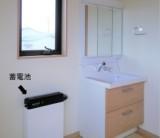 「暮らしのエネルギーは、太陽光発電から蓄電池利用。」/  富士・富士宮・三島フジモクの家