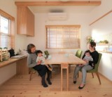 わざわ座の家具と暮らす / 富士・富士宮・三島フジモクの家