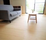 「気持ちのよさが、無垢の床材のあたたかさ」/  富士・富士宮・三島 フジモクの家