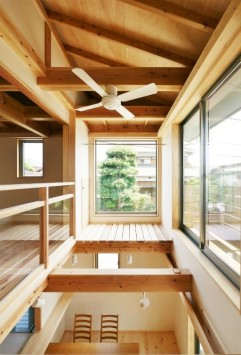やさしさが続く、快適が変化する。富士ひのきが包む「木造ドミノの家」。 サブ画像8